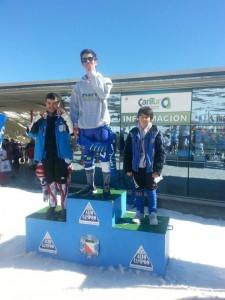 Campeonato autonómico de Cantabria 2014. Slalom especial. 2º Antonio García-Bernardo Tartiere.