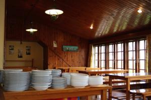Restaurante del Club, situado en la planta baja.